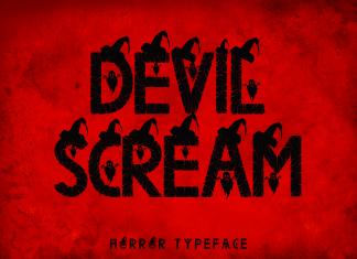 Devil Scream Display Font