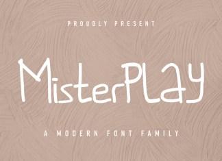 Misterplay Display Font