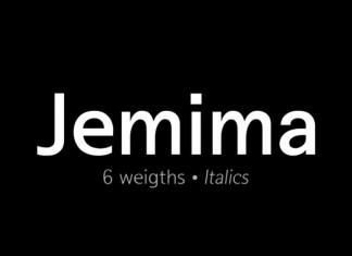 Jemima Sans Serif Font