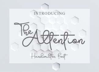 The Attention Font