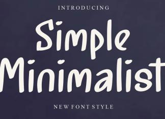 Simple Minimalist Script Font