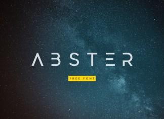 Abster Display Font