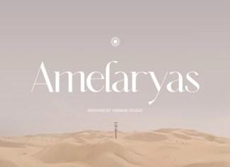 Amelaryas Sans Serif Font