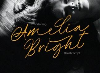 Amelia Bright Script Font