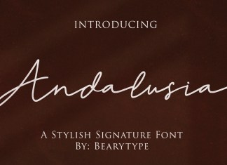 Andalusia Script Font