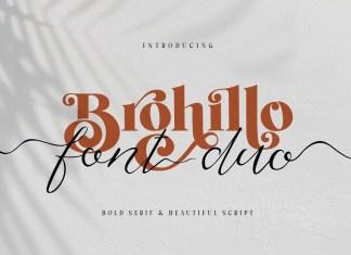 Brohillo Serif Font