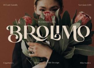 Brolimo Sans Serif Font
