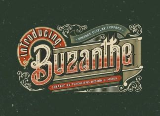 Buzanthe Blackletter Font