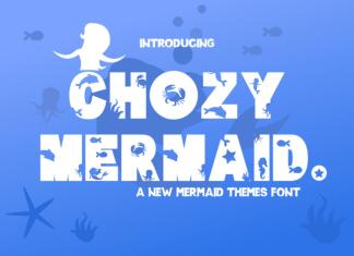 Chozy Mermaid Display Font