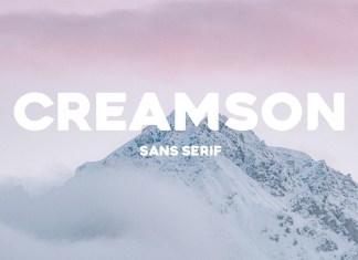 Creamson Sans Serif Font