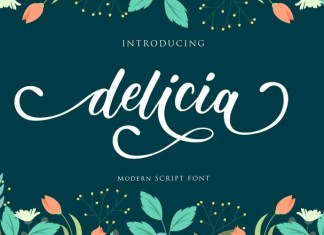Delicia Calligraphy Font