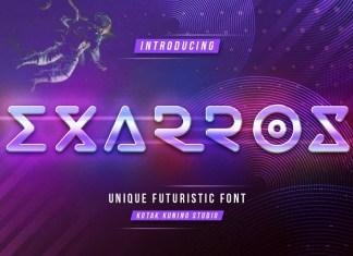 Exarros Display Font