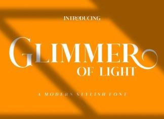 Glimmer Of Light Serif Font