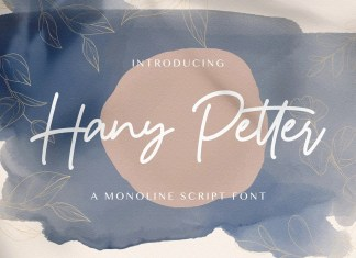 Hany Petter Handwritten Font