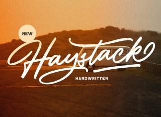 Haystack Script Font