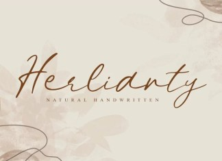 Herlianty Handwritten Font