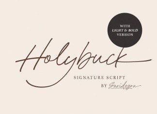 Holybuck Script Font