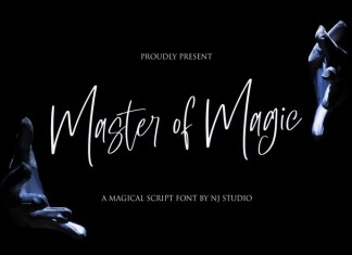 Master of Magic Font