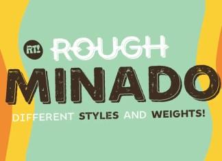 MinadoRough Display Font