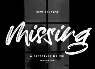 Missing Brush Font