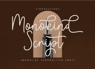 Monokind Handwritten Font