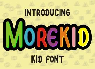 Morekid Display Font