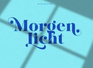 Morgenlicht Serif Font