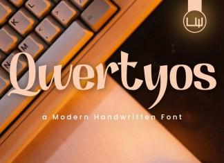 Qwertyos Display Font