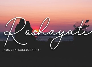 Roshayati Handwritten Font