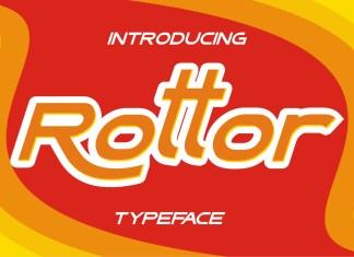Rottor Display Font