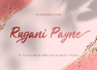Rugani Payne Brush Font