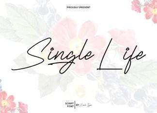 Single Life Handwritten Font
