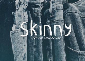 Skinny Display Font