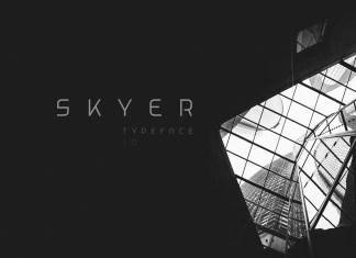 Skyer Display Font