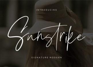 Sunstrike Script Font