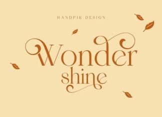 Wondershine Serif Font