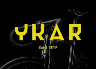 Ykar Display Font