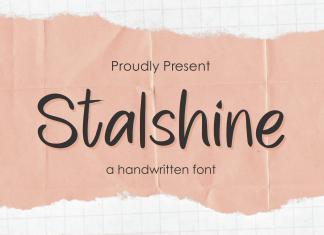 Stalshine Script Font