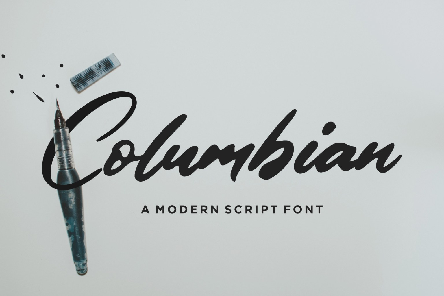 Columbian Script Font