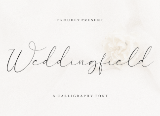 Weddingfield Script Font