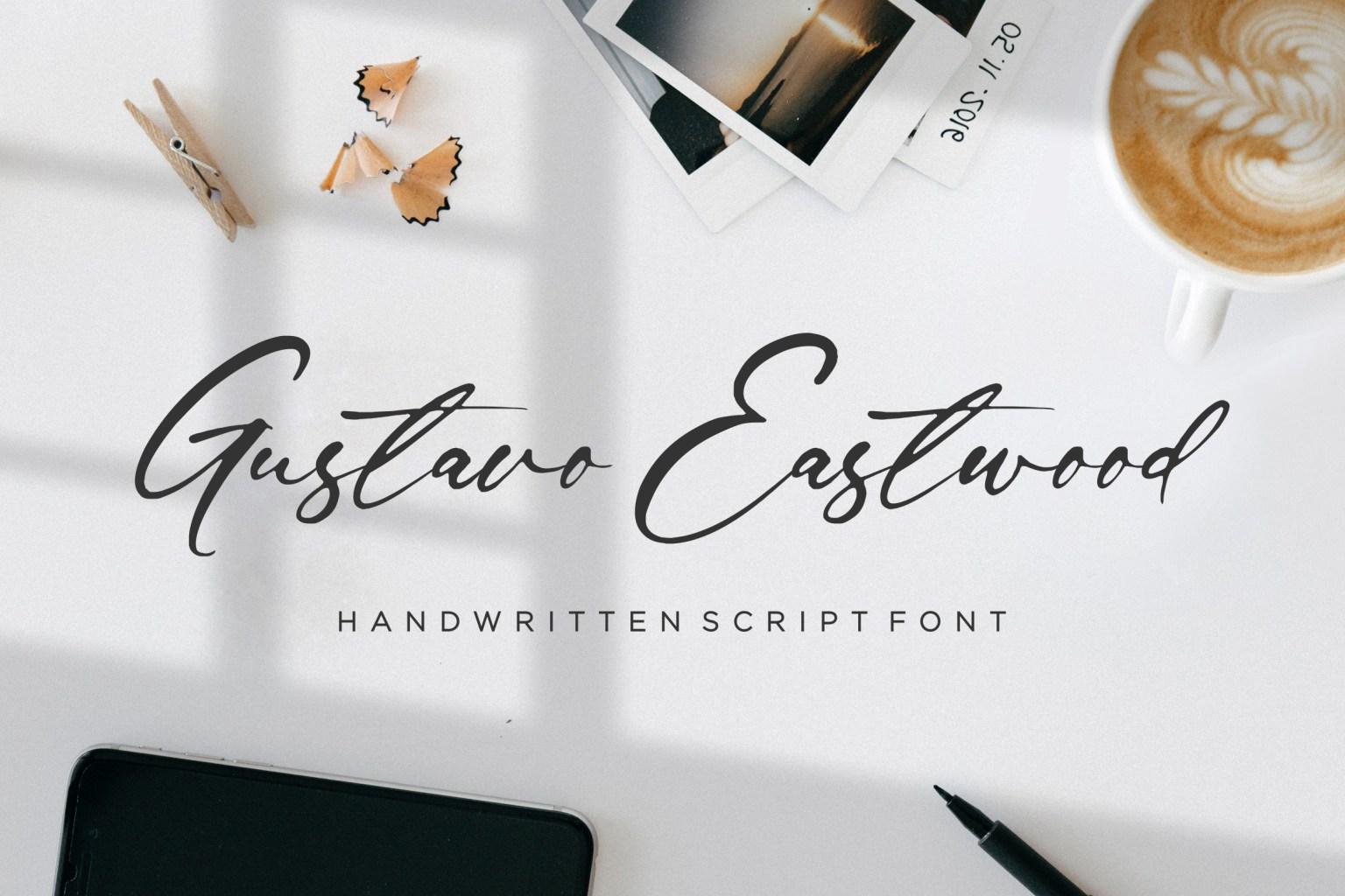 Gustavo Eastwood Script Font
