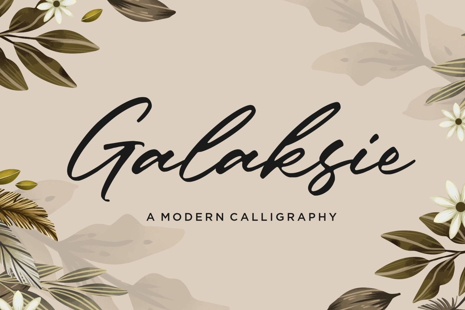 Galaksie Font