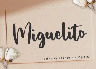 Miguelito Handwritten Font