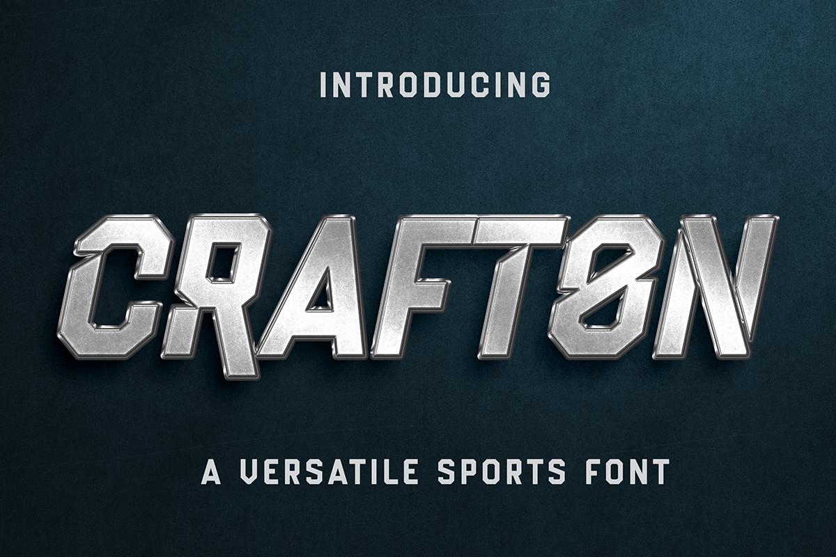 Crafton Font