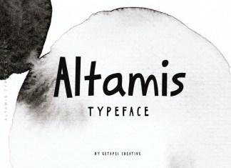 Altamis Display Font