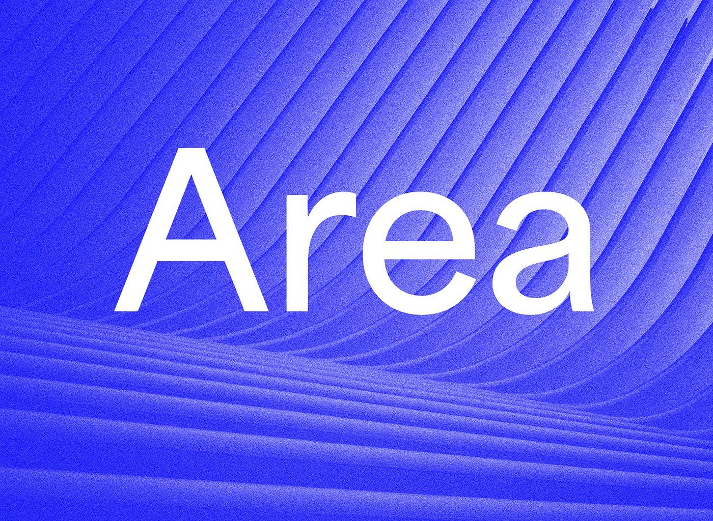 Area Sans Serif Font