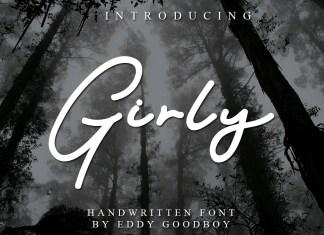 Girly Handwritten Font