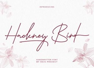 Hackney Bird HandwrittenFont