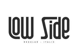 Low Side Sans Serif Font