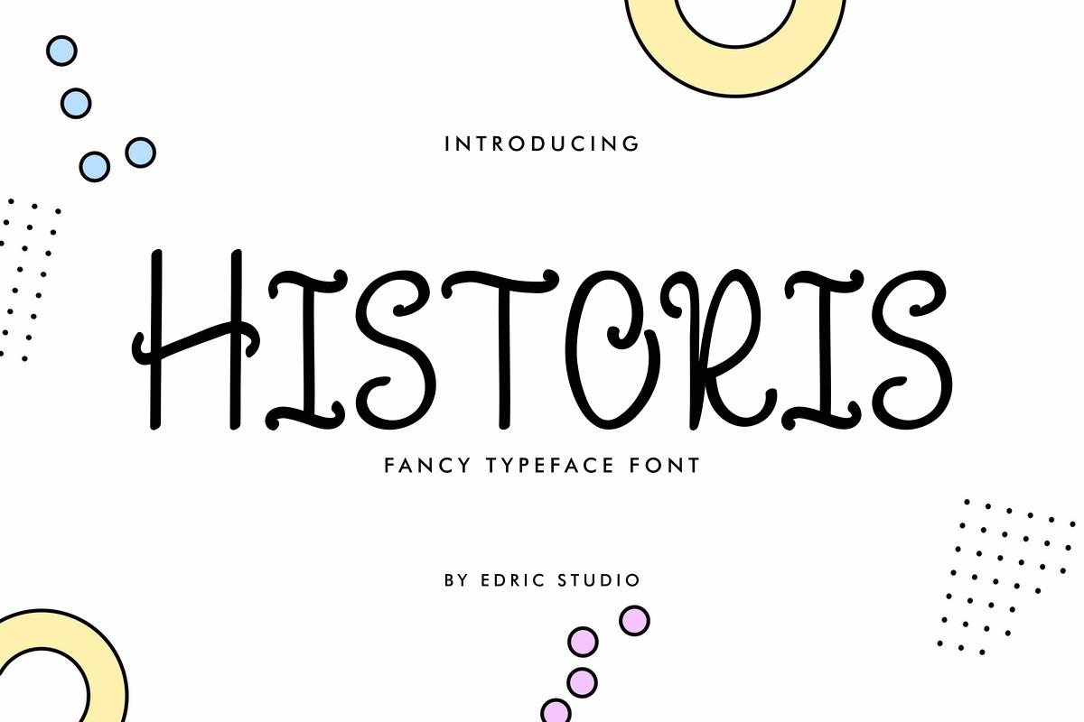 Historis Display Font